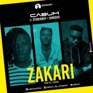 Cabum - Zakari ft. Stonebwoy, Sarkodie